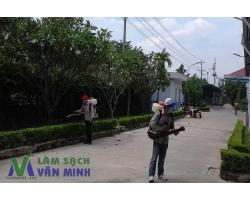 Phun muỗi tại Dương Kinh, Hải Phòng